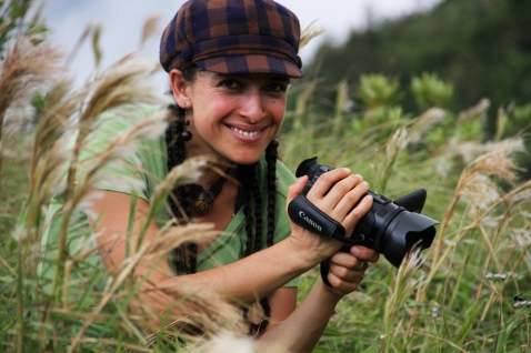 Pati is a biologist who uses film to study animal behavior.